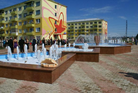 Шахтерский городок Полысаево, Кемеровская область, основан в 1952-м