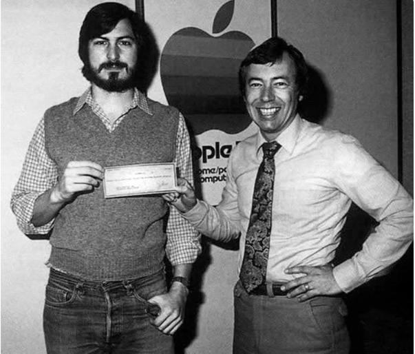 Стив Джобс и Майк Марккула